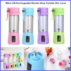 Portable Mini juicer with power bank, USB Chargeable Juicer Blender , mini...