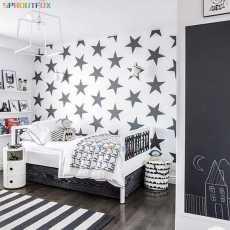 DIY Big Stars Vinyl Sticker Bedroom Art Murals Removable Waterproof Wallpaper...