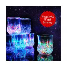 LED Flash Light Glass Inductive Rainbow Color High Quality Material Enhance...