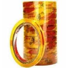 1 INCH Scotch Tap Transparent/Clear Tap (Pack Of 12) Premium Quality tap