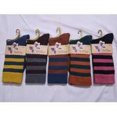 Pack of 1 - ladies winter socks - multicolor