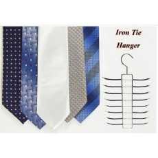 Pack of 1 - Iron Tie Hanger