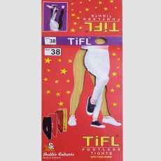 Pack of 1 - Ladies Footless Tights