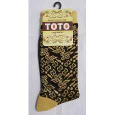 Pack of 1 - Ladies Fancy Socks