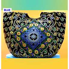 Embroidered Ladies Bag, New Style Beautiful Shoulder Bag for Women and Girls...