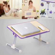 Laptop Desk, iTeknic Laptop Bed Tray Table, Adjustable Laptop Bed Stand,...
