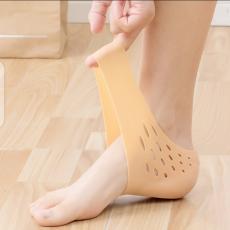 4 PAIR Gel Socks for Cracked Heels, Moisturising Socks Plantar Fasciitis...
