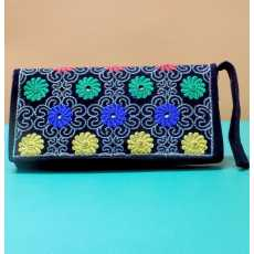 Embroidered Wallet for Girls / Women, Fashionable Ladies Wallet - Daily Use...