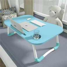 WOOD PORTABLE LAPTOP STAND HOME USES OFFICE USES RANDOM COLOUR