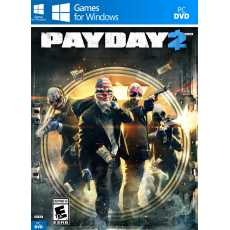 Payday 2 (Complete PC Game) with All DLC in DVD - Computer And Laptop Games