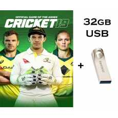 Cricket 19 (Complete PC GAME) in 32gb USB Brand New - Computer And Laptop Games