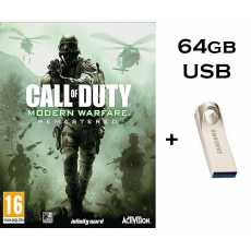 Call Of Duty 4 Modern Warfare Remastered - Complete PC GAME in 64gb USB Brand...