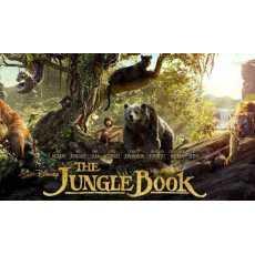 The Jungle Book (2016) Movie - Urdu + English 1080P HD in DVD
