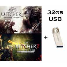 The Witcher 1 : Enhanced Edition + The Witcher 2 : Assassins of Kings II...