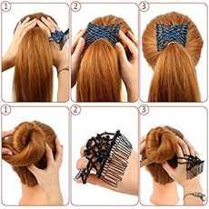STYLER BABY HAIR DESIGNER CLIPS PACK OF 3 MULTI COLOUR