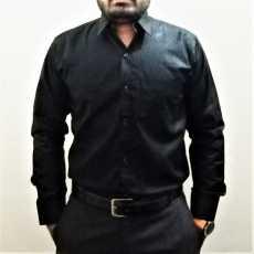 Black Formal DRESS SHIRT
