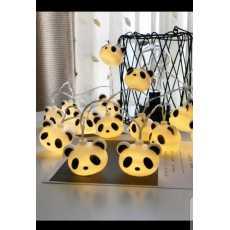 10 LED Fairy Cartoon Panda Battery Operated String Lights 5ft length