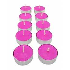 Pack of 10 Romantic Floating Decorative Tealight Smokeless Scented Candles...