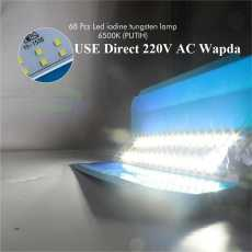 50W LED Flood Light with Holding Clamp Full Water Proof Direct 220V Wapda...