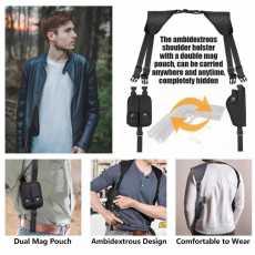 nylon cover for safty pistals/ shoulder covers case holster case universal...