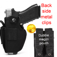 nylon cover for safty pistals/ 1st quality covers case holster case universal...