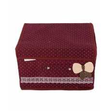 Storage Box - Maroon
