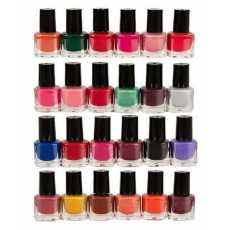 Bundle Of 24 - Nail Polishes - Multicolor