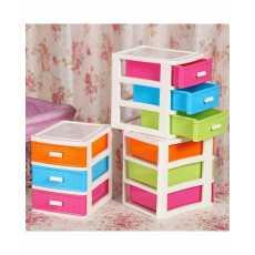 3 Drawer Storage Box - Multicolor