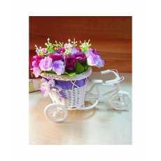 Floral Bicycle Decoration Piece