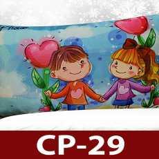 Baby Pillow Digital Cartoon Print