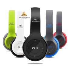 P47 Wireless Bluetooth Headphones Latest 5.0+EDR-Foldable Stereo Headset with...