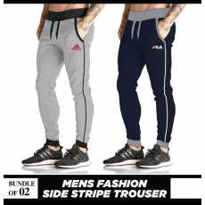 Pack of 2 Men Casual Trousers