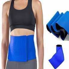Adjustable Waist Trimmer Body Leg Slimming Shaper Support Elastic Pain Back...
