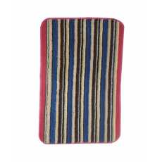 Rubber & Polyester Foot Mat Multicolored