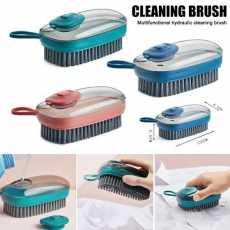 Hydraulic Automatic Liquid Adding Cleaning Brush