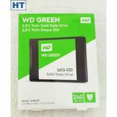 Western Digital (WD Green) 240GB Internal SSD - 6 Gbps (SATA III interface) -...