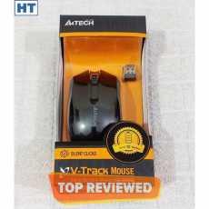 A4Tech Wireless Mouse (G3-200NS) - Silent Clicks - 3 Buttons - 1000 dpi - V...