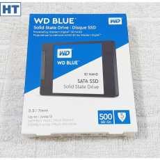 Western Digital (WD Blue) 500GB Internal SSD - 6 Gbps (SATA III interface) -...