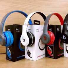 P47 Wireless Bluetooth Foldable V5.2 Stereo Headphones