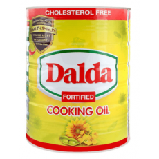 DALDA FORTIFIED COOKING OIL 5 LITRES TIN