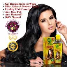100% Organic Herbal Hair Growth Natural Oil for Long Hairs Repairing Regrow...