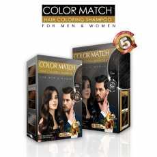 Hair Coloring Shampoo 2x (Black & Brown) Black Rose Hair Color