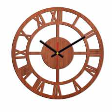 modern 3D wooden wall clock for room and office- 18 inches wooden clock-dotz...