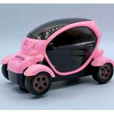 Future Concept Car With 3D Lights & Music, Rotation For Kids - Pink