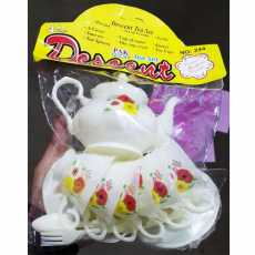 Decent Beautiful Coffe/Tea Set Kitchen Playing Game For Baby/Girls - DEC