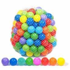 Soft Plastic Balls 50 Pcs Set - Multicolor