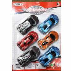 TOY RACING CARS (PACK OF 6 CARS)
