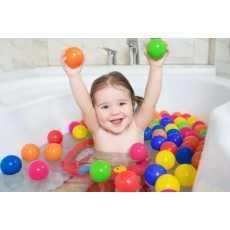 Soft Plastic Balls 12 Pcs Set - Multicolor