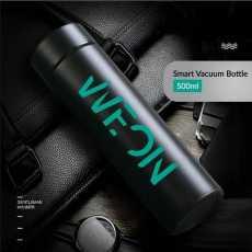 SMART VACUUM WATER BOTTLE - MATTE BLACK