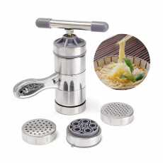 STAINLESS STEEL NOODLE JUICE MAKER PRESSURE SURFACE MACHINE (PASTA AND NOODLE...